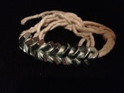 Image of Braided Hex Nut Double Wrap Bracelet