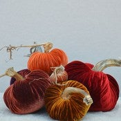 Image of Velvet Plush Pumpkin Royal Large Set