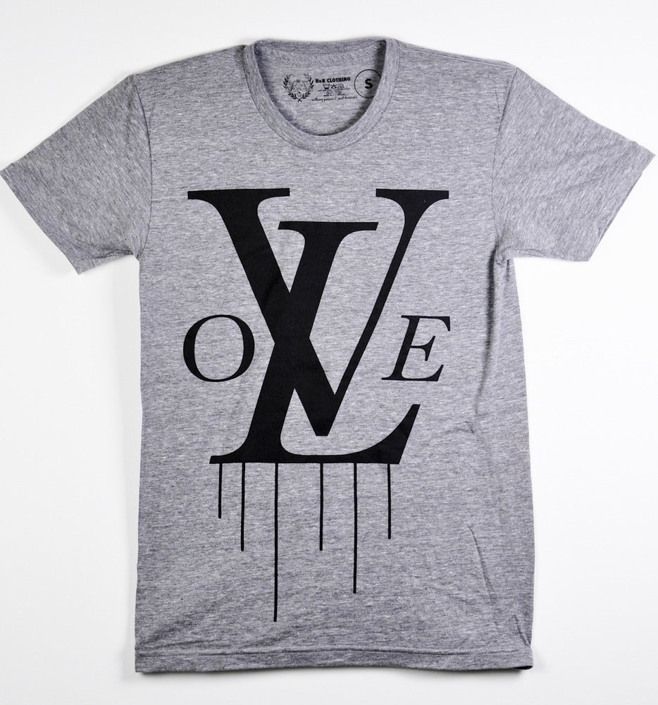 Image of Monogram Tee (Athletic Grey)