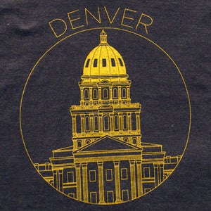 Image of Coloradical Denver Capitol T-Shirt