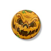 "Image of Age of the Zombie Pumpkins! 1.5"" Button"