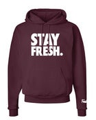 Image of Stay Fresh Hoodie - Maroon