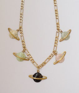 Image of Little saturn necklace