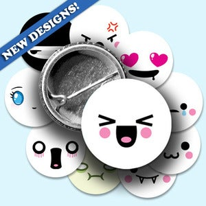Image of Kawaii Distilled Button Sets