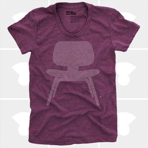 Image of Plywood Chair T-Shirt - Women