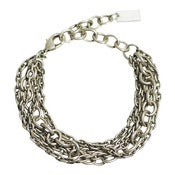 Image of osprey bracelet: antique silver
