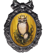 "Image of ""Nest Owl"" Necklace"