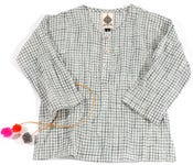 Image of kurta-grey check
