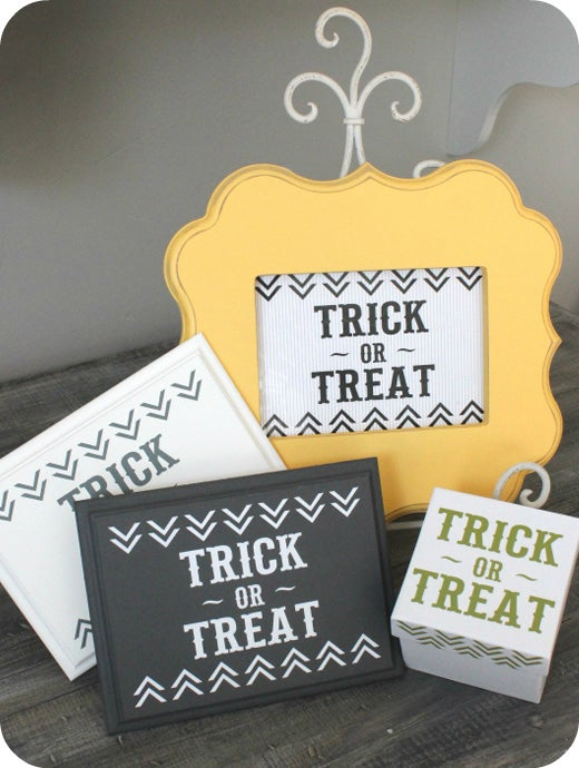Image of DECAL DEAL Trick-or-Treat