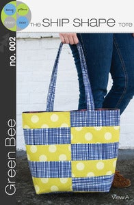 Image of Ship Shape Tote Sewing Pattern