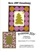 Image of Primitive Joy Wallhanging or Tabletopper