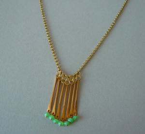 Image of Fireworks Necklace - Long          {see more colours}