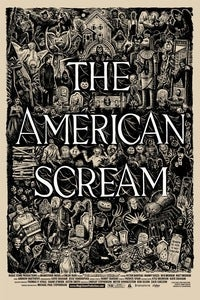 Image of THE AMERICAN SCREAM Limited Edition Poster by Johnny Sampson: LARGE, 24x36