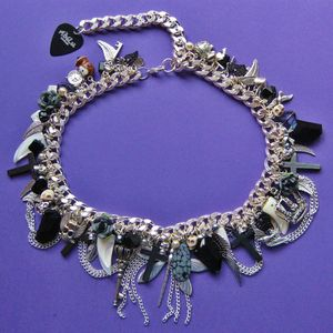 Image of Gothic Glamour Chunky Monkey Necklace