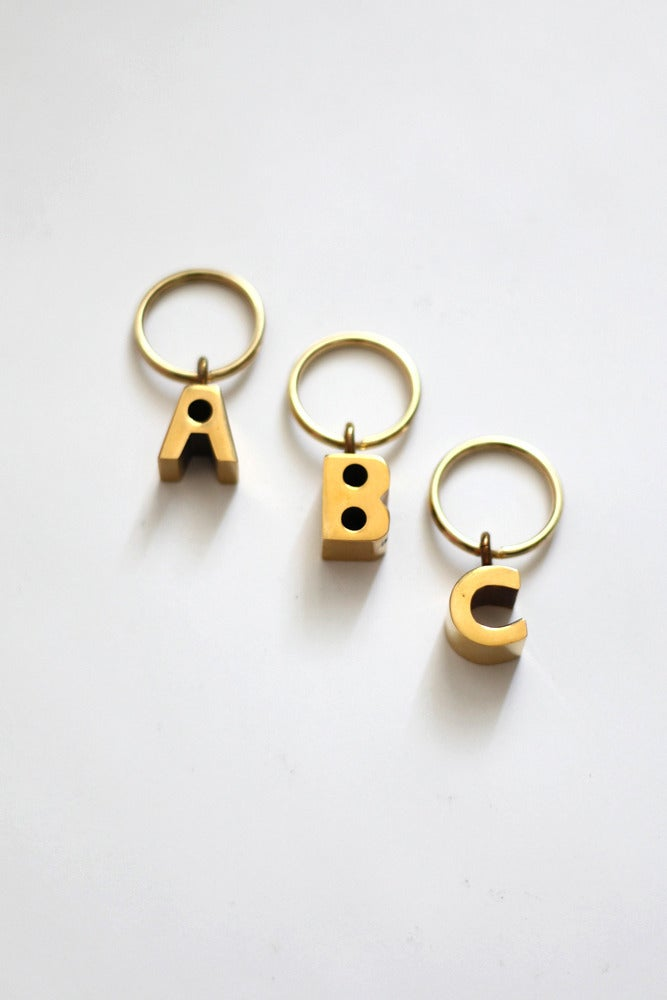 Image of Alphabet Key Chain