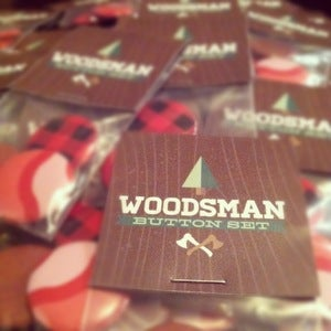 Image of Woodsman Button Set