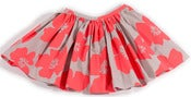 Image of olivia skirt-neon floral