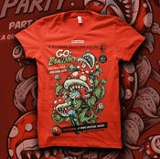 Image of &quot;Piranha Party LARGE&quot; - T-shirt