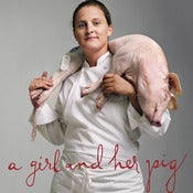 Image of A Girl and Her Pig