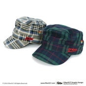 Image of Filter017 Cavalry Flag Work Cap-Plaid