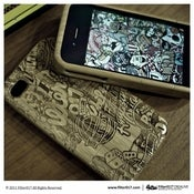 Image of FILTER017 R.D. PATTERN BAMBOO IPHONE CASE