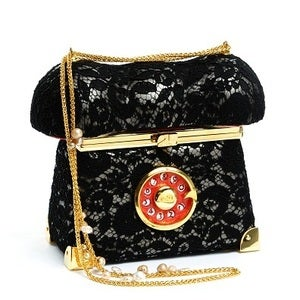 Image of Lace Telephone Bag
