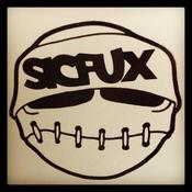 "Image of 3"" Sicfux Vinyl Sticker"