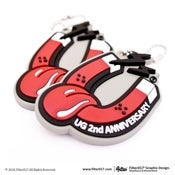 Image of UG x Filter017 2st Anniversary DOUBLE MAGNETISM PVC Key Chain
