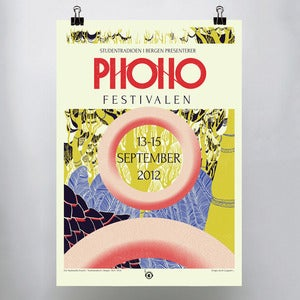 Image of Phonofestivalen teaser poster