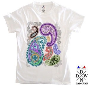 Image of T-shirt homme cachemire by Dadawan