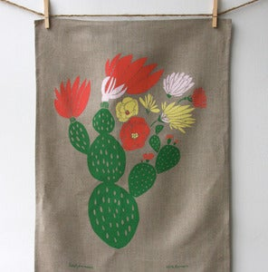 Image of Cactus Tea Towel