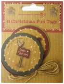 Image of 8 Christmas Fun Tags