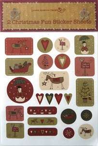 Image of 2 Christmas Fun Sticker Sheets