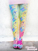 Image of Shooting Star Bunny Tights