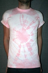 Image of Powder Pink Tie Dye Tshirt