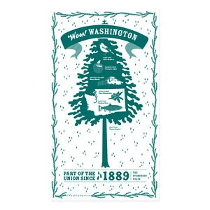 Image of Washington State Towel