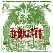 Image of INHERIT &quot;The Crushing Wheels of Samsara&quot; 7&quot;EP GREEN VINYL