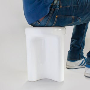 Image of Ceramic Stool- Ceramiko