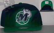 Image of Dallas Mavericks Shark Tooth Snapback Hat Cap