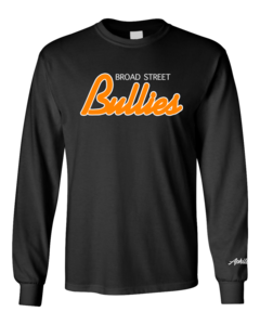 Image of Bullies Long Sleeve T-shirt (Black)