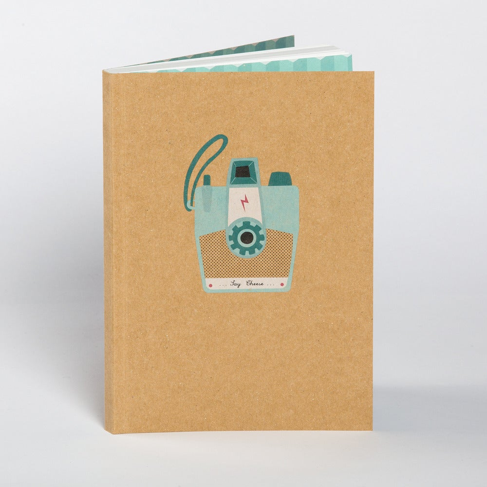 Image of Camera Boxed Blank Notebook
