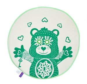 Image of BU! Teddy Blankie / Green