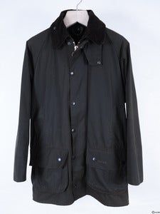 Image of Barbour - Moorland Waxed Jacket with Quilted Lining