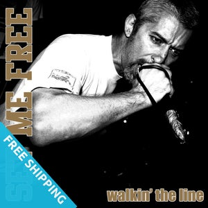 Image of Set Me Free - Walkin' The Line CD (free shipping)
