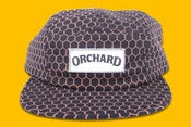 Image of Orchard Brand Chicken Wire Text Logo 5 Panel