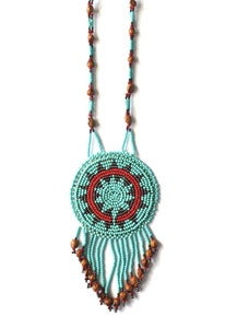 Image of Vintage Navajo Beaded Necklace (v3)
