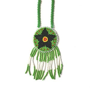 Image of Vintage Navajo Beaded Necklace (v6)