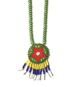 Image of Vintage Navajo Beaded Necklace (v9)