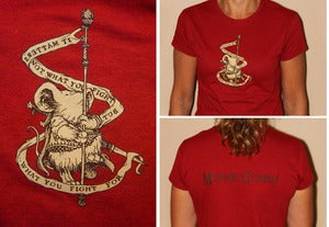 Image of Ladies Mouse Guard & Banner Tee