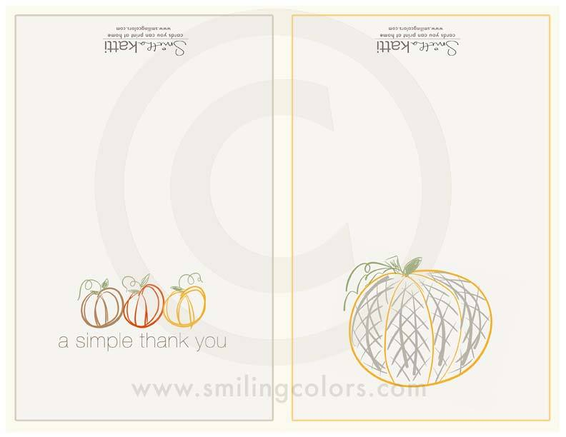 Image of Pumpkin Cards